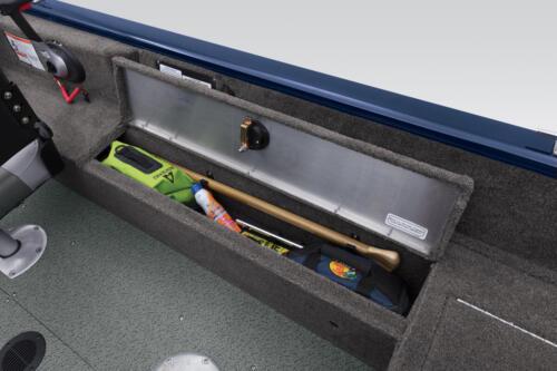 2 deep top-loading lockable boxes