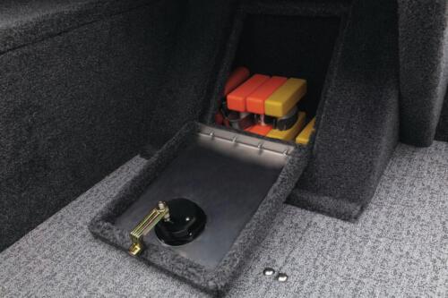 Passenger side storage