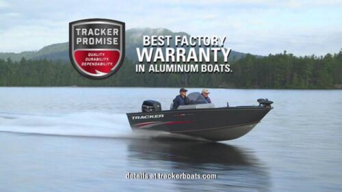 Backed by the TRACKER® Promise factory warranty