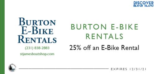 Burton E-Bike Rentals