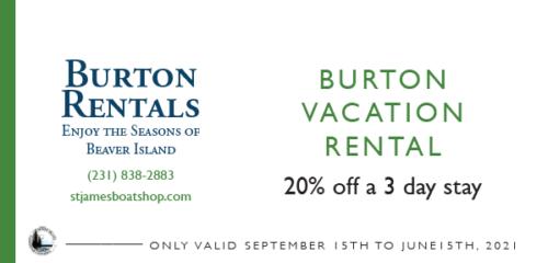 Burton Vacation Rental