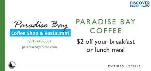 Paradise Bay Coffes Shop  Restaurant